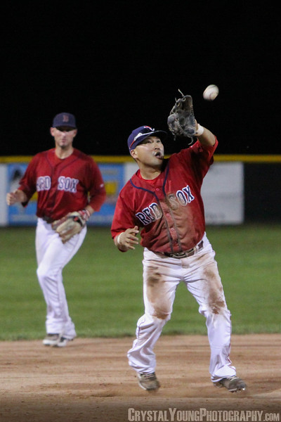 Barrie Baycats at Brantford Red Sox July 17, 2013