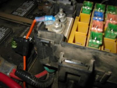 Compressor install