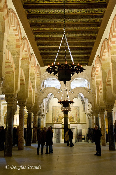 Thur 3/10 in Cordoba:  Inside the Mezquita