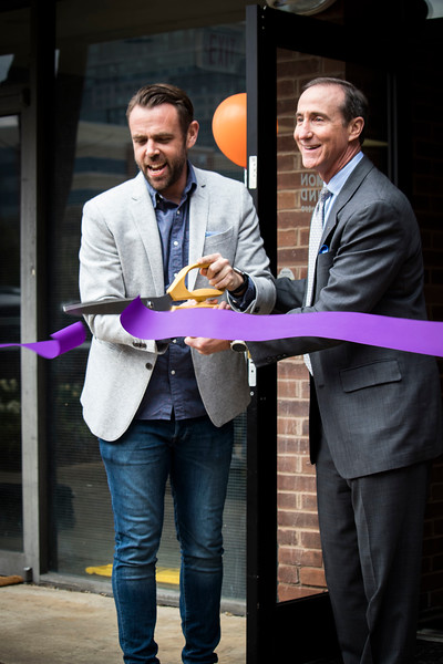 Garrett with Mark Pres Chamber_Cut Ribbon_8680.JPG