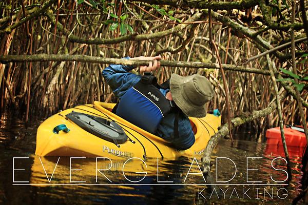 Everglades: kayaking