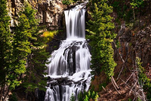 Undline Falls, Yelowstone National Park