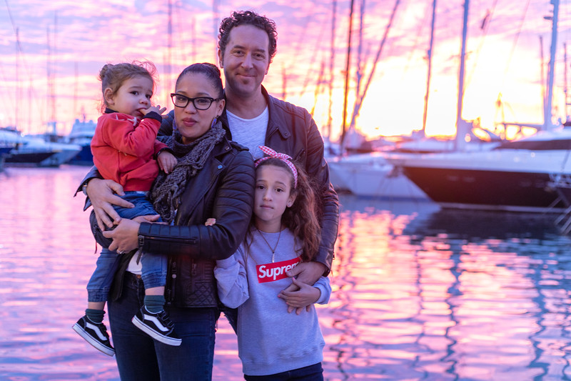 Hewitt Family  Mallorca 2018