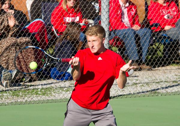 2015 Boys Tennis Sectional at Goshen