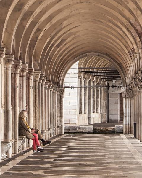 Together Alone , Doge's Palace , Venice