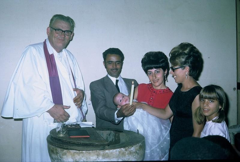 Baptizado de Pedro Silva no Saurimo