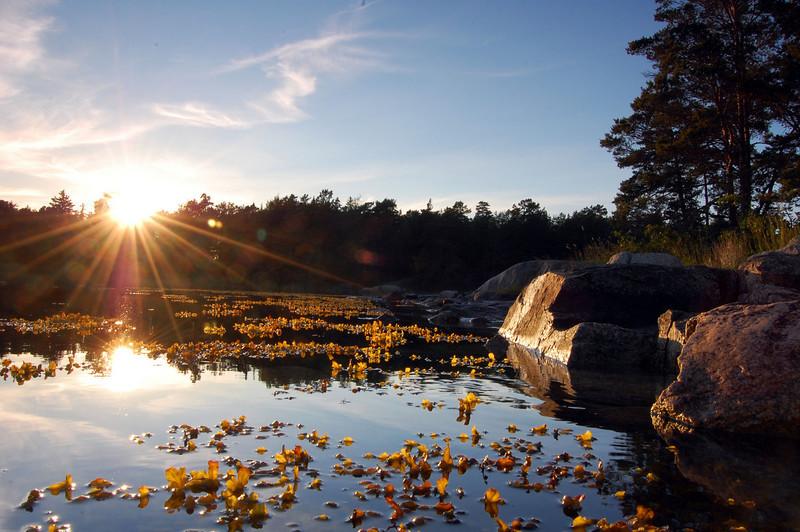 Archipelago in Stockholm, Sweden.