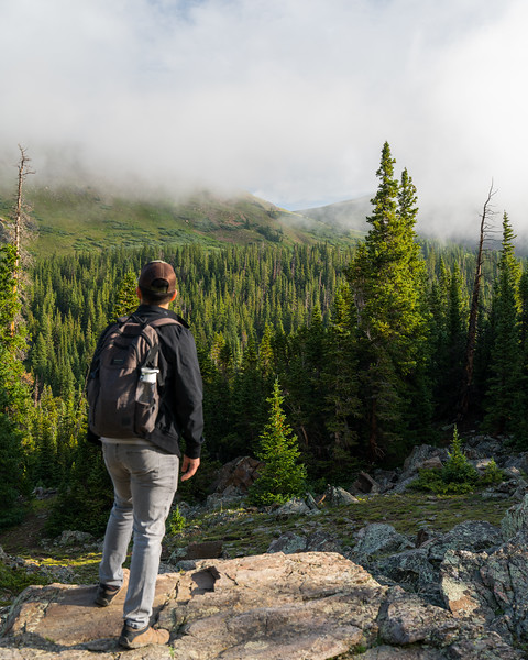 Claud L. - Hiking in the Rockies!