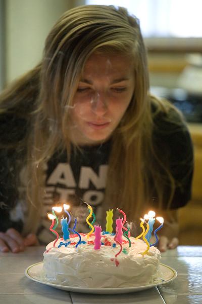 Hannah's 17th Birthday