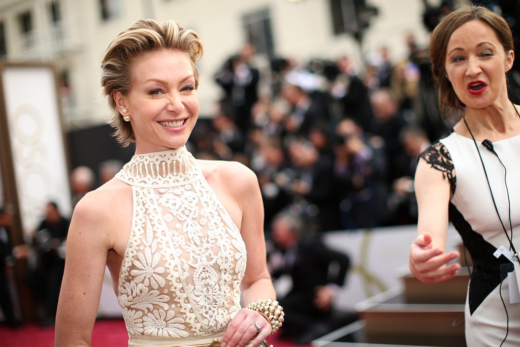 . Actress Portia de Rossi attends the Oscars at Hollywood & Highland Center on March 2, 2014 in Hollywood, California.  (Photo by Christopher Polk/Getty Images)