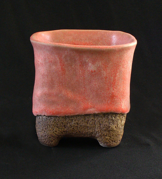 "#302A 3 3/4"" rounded  square, 4"" deep, 4 3/4"" tall  ***SOLD***"