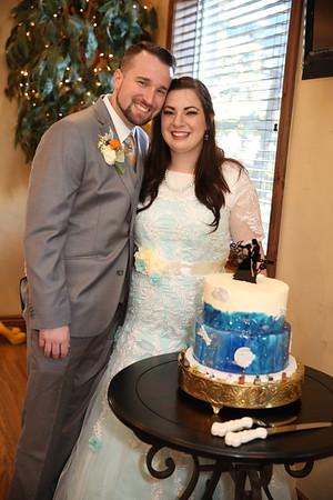 Reception: Cake cutting