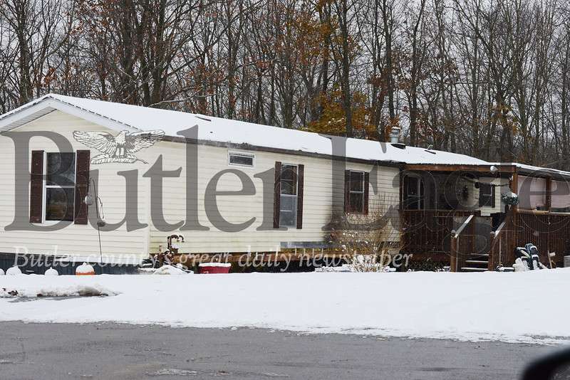 Photo by J.W. Johnson Jr.Cranberry Township police allege drugs were being sold out of this home on Slate Avenue.