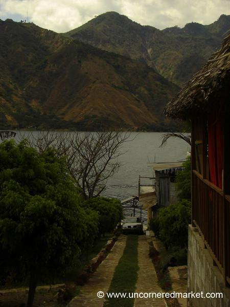 Pathway to the Lake - San Pedro La Laguna, Guatemala