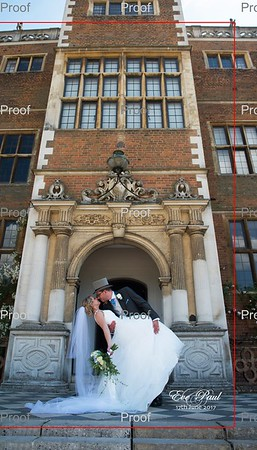 Eve and Paul at Old Palace, Hatfield House