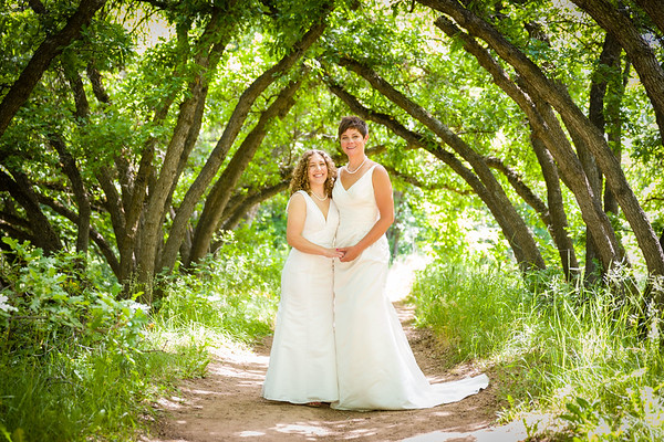 Dani & Marisa Wedding at Red Butte Garden