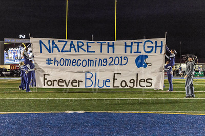 Nazareth Varsity Football Homecoming Game