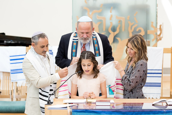 Emme Ross Bat Mitzvah 9-7-19