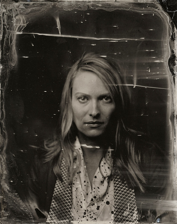 . Vanessa Shaw poses for a tintype (wet collodion) portrait at The Collective and Gibson Lounge Powered by CEG, during the 2014 Sundance Film Festival in Park City, Utah. (Photo by Victoria Will/Invision/AP)
