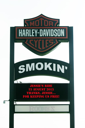 "First Annual ""Ride For The Wounded"" at Smokin' Harley Davidson, Winston Salem, NC 15 August 2015"