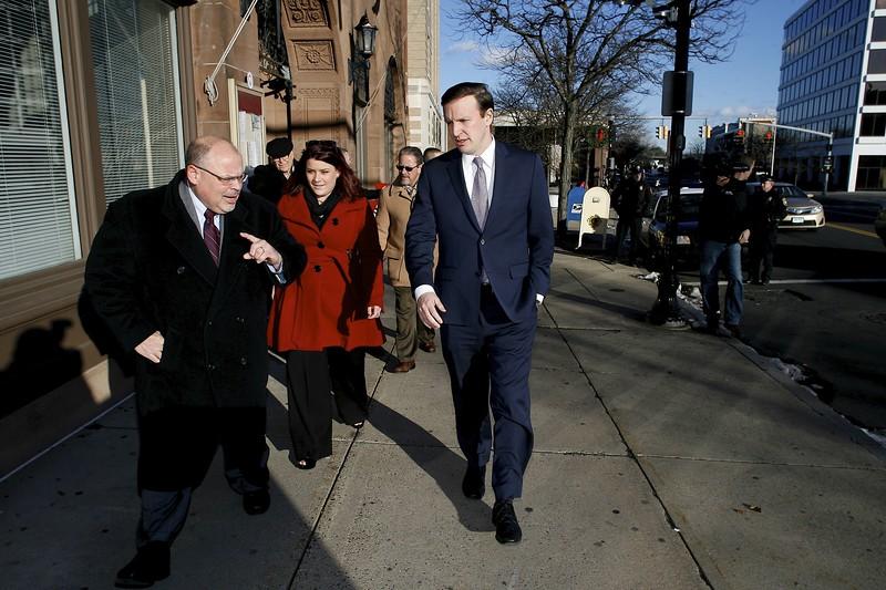 Sen. Murphy Visits New Britain