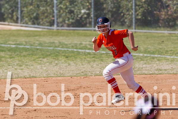 Oxy Softball vs.  La Sierra 2-25-13
