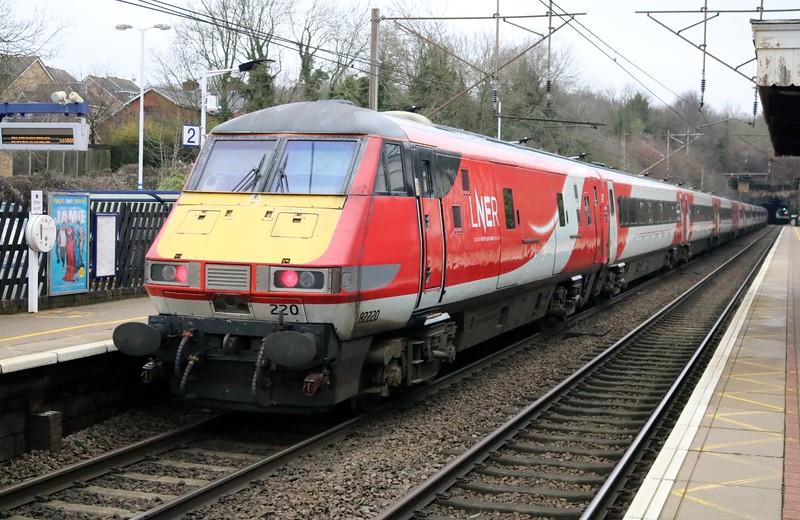 91101 'Flying Scotsman'_82220 1129/1D11 Kings Cross-Leeds