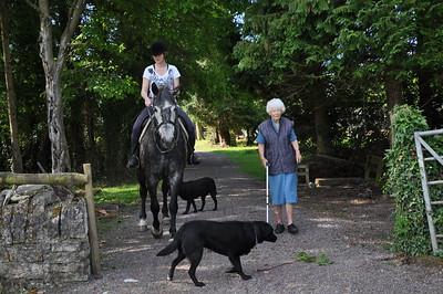 Horsewoman Ruth
