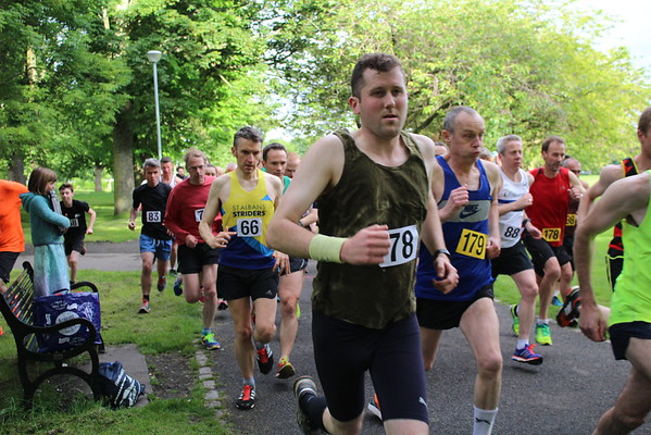 Sri Chinmoy Races 1 mile, Wed 29 June 2016
