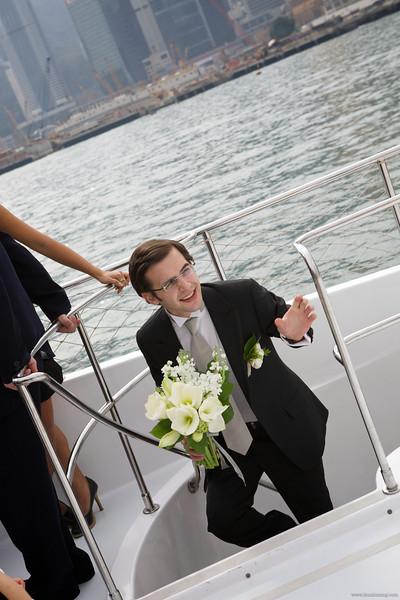 Wiseman and Cyril Wedding