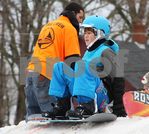 Youth Snowboarding Contest 022413
