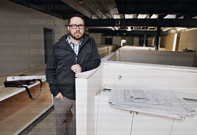 Jeff Peltier of Board and Vellum architecture and design firm in Seattle, Wash.