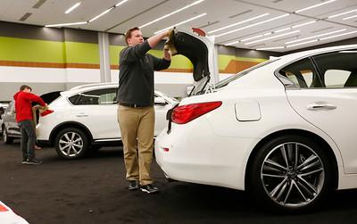 The 2016 Silicon Valley Auto Show prepares to open in San Jose