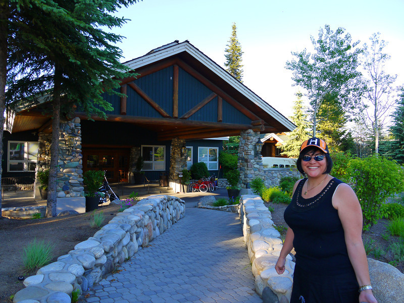 Heading up to the Shore Lodge