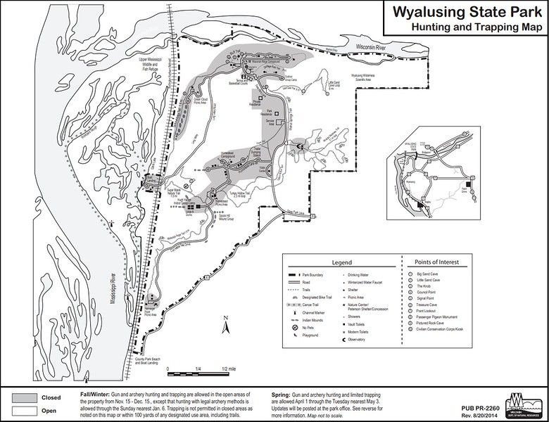 Wyaulsing State Park (Hunting Map)