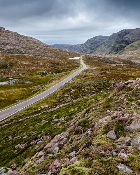 Bealach na Ba mountain pass in Wester Ross