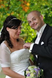 Britt & Rudi's bryllup 2. oktober 2010