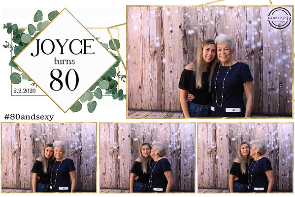 Joyce turns 80