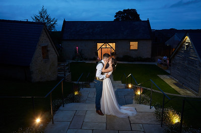 Louisa & Louis - The Barn at Upcote