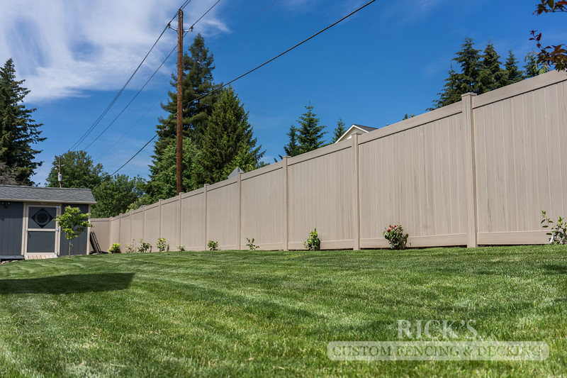 3043 - Driftwood Vinyl Privacy Fencing