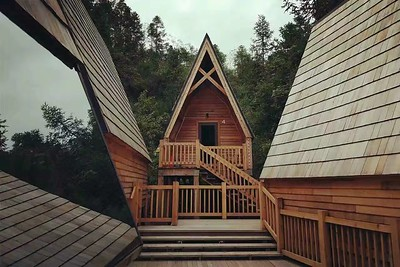 Huangshan Qiyun Freedom Camp Treehouse Hotel 黄山齐云自由家营地树屋酒店
