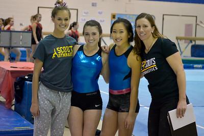 Scouts Gymnastics Holiday Quad Meet