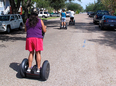 Segway Tour In Galveston, Texas