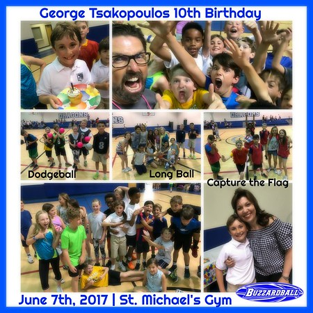 JUNE 7TH, 2017 | George Tsakopoulos 10th Birthday