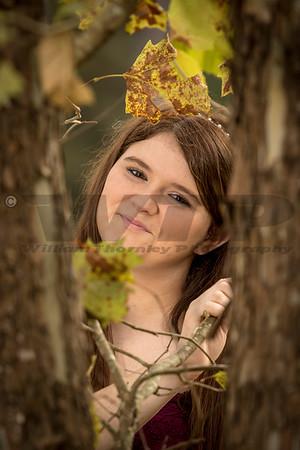 Hailey Reed Senior 10-15-16