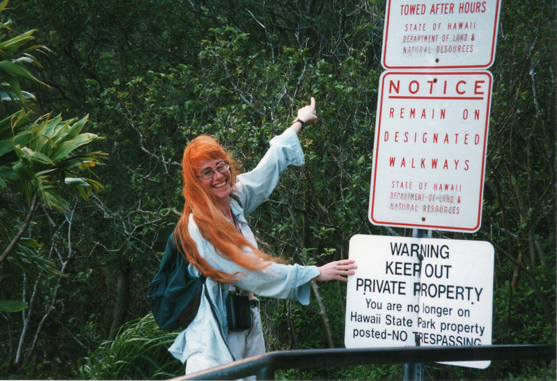 0530 - Deb trespassing