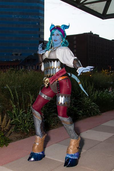 World of Warcraft Draenei at Otakon