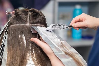 Penjagaan rambut bleach