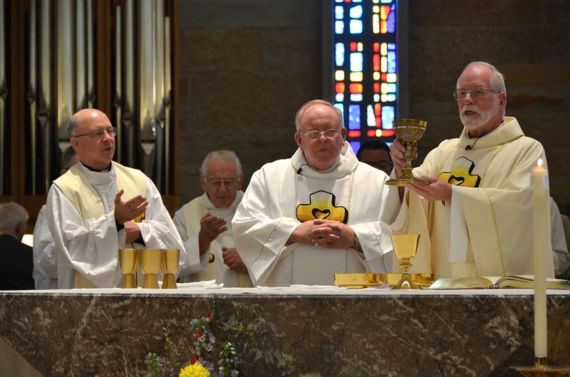 Eucharist with Fr. Steve, Dn. David and Fr. Ed