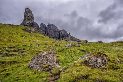 Skye Trip, Day 2, pt1: Old Man of Storr